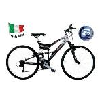 "BICICLETA MOUNTAINBIKE BUGNO - FULL SUSPENSION, 26"" AKX26221BA"