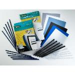FELLOWES PACK DE 100 CANUTILLOS PLASTICO NEGROS 8 MM 5345707