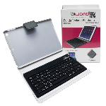 FUNDA TECLADO BLUETOOTH IPAD AIR NEGRA BIWOND
