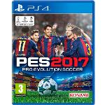JUEGO VIDEOCONSOLA PS4 PRO EVOLUTION SOCCER 2017