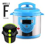 OLLA GM PROGRAMABLE MODELO F AZUL 6L + CECOFRY COMPACT PLUS