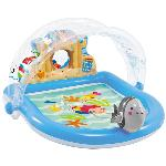 PISCINA DE JUEGOS HINCHABLE INTEX CASTILLO DE PLAYA 170X150X81CM 57421