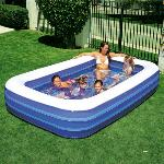 PISCINA INFLABLE RECTANGULAR 305X183X56CM