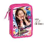 PLUMIER TRIPLE DE SOY LUNA SURPRISE (ST1)