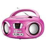 RADIO CD BLUETOOTH MP3 BRIGMTON W-501 USB ROSA
