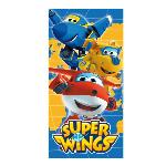 TOALLA PLAYA POLYESTER 70X140CM DE SUPER WINGS