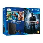 VIDEOCONSOLA SONY PS4 1TB SLIM  JUEGOS UNCHARTED