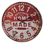 WALL CLOCK 40 CM ANALOGUE RED/WHITE