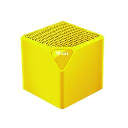 ALTAVOZ TRUST BLUETOOTH PRIMO WIRELESS NEON YELLOW - 10 METROS - BATERIA RECARGABLE - ENTRADA DE LINEA -  SD MICRO / USB 22486