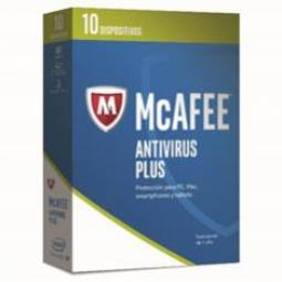 ANTIVIRUS MCAFEE ANIVIRUS PLUS 2017 10 DISPOSITIVOS