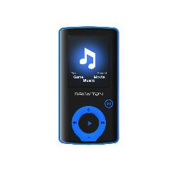 BPA-81 REPRODUCTOR DE MP4 8GB NEGRO, AZUL