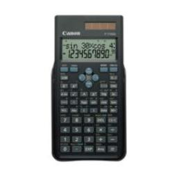 CANON F-715SG, BOLSILLO, BATERÍA/SOLAR, SCIENTIFIC CALCULATOR, NEGRO, LR44, 61 X 25 MM