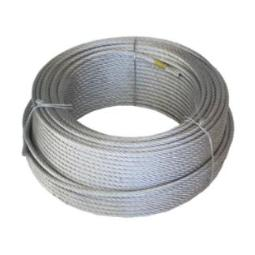 CABLE ACERO 4MM.GALV.(6X7X1) R-100MT.