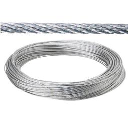 CABLE GALVANIZADO 3  MM (ROLLO 100MT) NO ELEVACION