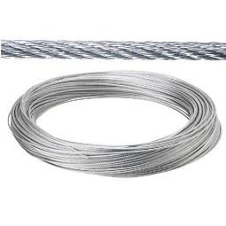 CABLE GALVANIZADO 5 MM (ROLLO 25 MT) NO ELEVACION