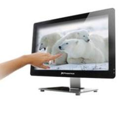 "CAJA BAREBONE ALL IN ONE TACTIL PHOENIX PANTALLA LED 21.5""SLIM  USB HD AUDIO LECTOR MEMORIA WEBCAM FUENTE 150W"
