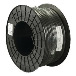 COAX CABLE ON REEL RG59 6.2 MM 100 M BLACK