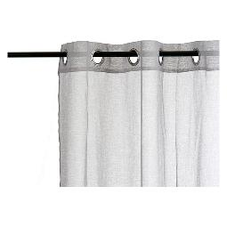 CORTINAS GIFT DECOR GRIS (260 X 140 CM)