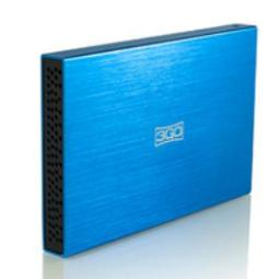 3GO HDD25BL13, 6,35 CM (2.5), SATA, AZUL, WINDOWS SE/ME/2000/NT/XP/VISTA/7 LINUX MAC, 70,7G (2.49 OZ), 12 CM