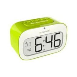 DESPERTADOR SUNSTECH CKD30RD VERDE