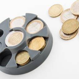 DISPENSADOR DE MONEDAS DE EURO