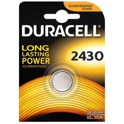 DURACELL PILA BOTON LITIO CR2430 3V BLISTER*1