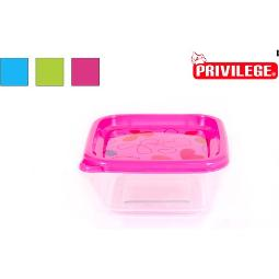 FIAMBRERA CUADRADA IML 0,6L FRUITS PRIVILEGE - COLORES SURTIDOS