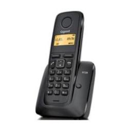 GIGASET A120, DECT, DESK/WALL, NEGRO, AAA, 5 - 45 °C, DIGITAL