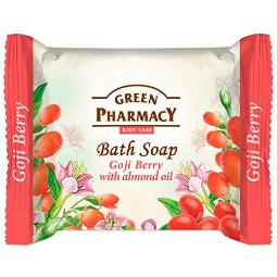 GREEN PHARMACY BATH SOAP GOJI BERRY WITH ALMOND OIL.