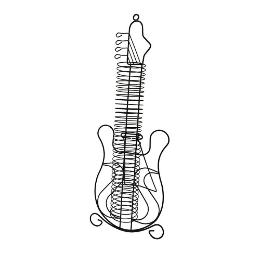 GUITARRA SOPORTE 36 CDS 09/3630