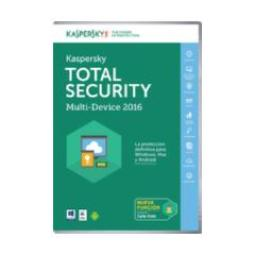 SOFTW KASPERSKY 2016 TOTAL SECURITY MULTI 3U ATT