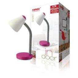 LED TABLE LAMP PINK