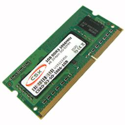 MODULO S/O DDR3 1GB PC1066 CSX RETAIL