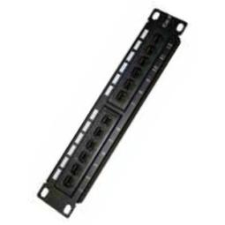 "MONOLYTH PATCH PANEL 12 PUERTOS 10"" UTP CAT. 6"
