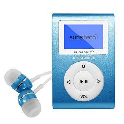 "MP3 SUNSTECH DEDALOIII 4 GB 1.1"" AZUL"