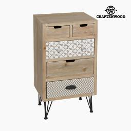 MUEBLE AUXILIAR ABETO NATURAL (45 X 35 X 81 CM) - COLECCIóN THUNDER BY CRAFTENWOOD