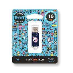 PENDRIVE 16GB TECH ONE TECH UNICORNIO DREAM USB 2.0 TEC4012