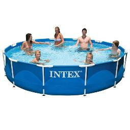 PISCINA TUBULAR REDONDA ULTRA FRAME INTEX 366X76CM 28210