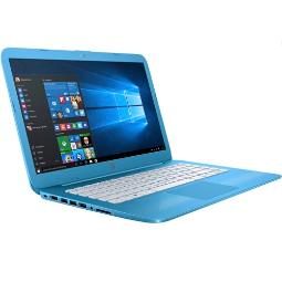 "PORTATIL HP STREAM 14-AX000NS INTEL CELERON N3060 14"" 2GB 32GB ""NO-DVD"" BLUETOOTH HDMI W10 COLOR AZUL AQUA"