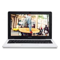 PORTATIL MEDION E11201/11,6 HD/IC-N3450/1,10-2,20 GHZ/4GB/64GB EMMC/W10 PRO ACADEMIC/WHITE