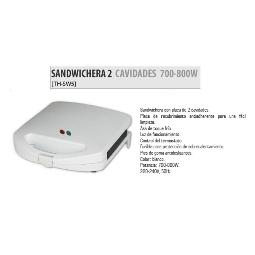 SANDWICHERA DOBLE 800W SW5