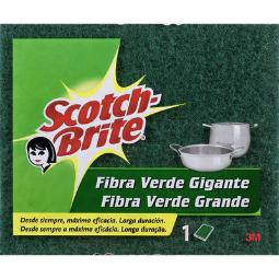 SCOTCH-BRITE ESTROPAJO 190X158MM VERDE REF.RN000972984
