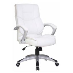Silla De Oficina Color Blanco Eco-120