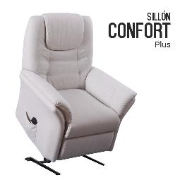 SILLON DE MASAJE LEVANTAPERSONAS CONFORT PLUS BEIGE
