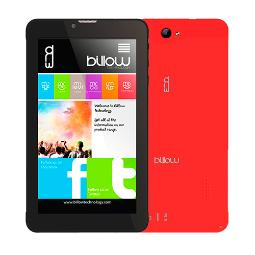 "TABLET BILLOW 7"" IPS QUAD CORE 1.2GHZ 8GB 1GB DUALSIM 4G WIFI DUALBAND ANDROID 5.1 DOBLE CAMARA COLOR ROJO BAT 2500MAH"
