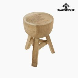 TABURETE DE MADERA JAAP BY CRAFTENWOOD