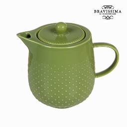 TETERA TEA TIME VERDE - COLECCIóN KITCHENS DECO BY BRAVISSIMA KITCHEN