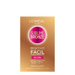 TOALLITAS AUTOBRONCEADORAS SUBLIME BRONZE LOREAL MAKE UP (2 UDS)
