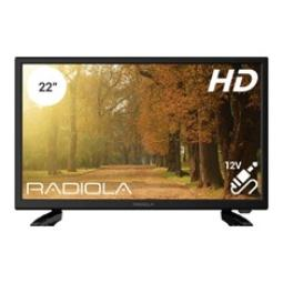 "TV RADIOLA 22"" FULL HD / HDMI/ USB/ ADAPTADOR 12V."