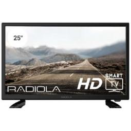 "TV RADIOLA 25"" LED FHD/ RAD-LD25100KA/ES/ SMART TV ANDROID / 3 HDMI/ 2 USB/ DVB-T/T2/C"